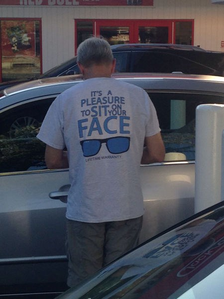 monday thru friday,poorly dressed,I see what you did there,t shirts,slogan