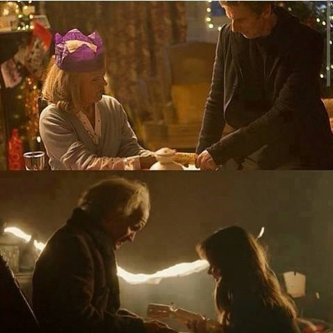 clara oswin oswald christmas special old makeup 11th Doctor - 8419416832