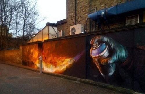 fire graffiti hacked irl - 8419522048