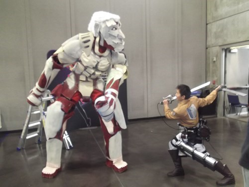 cosplay awesome attack on titan - 8419581440