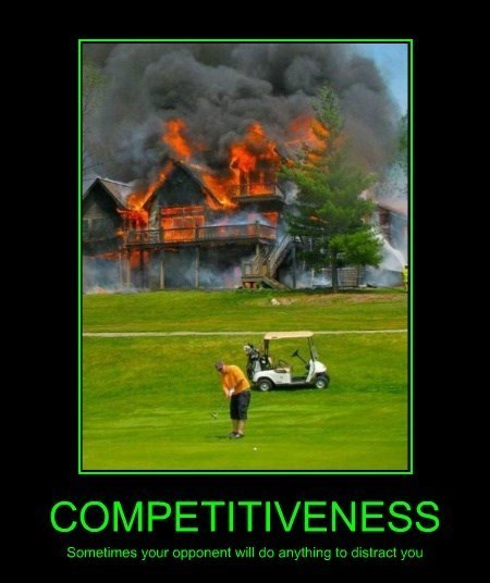 golf ball competitive funny - 8419663616