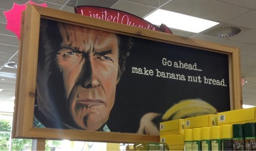 monday thru friday,art,banana,chalkboard,make my day,grocery store