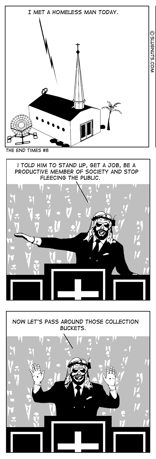 churches in this economy sad but true aetheists web comics - 8420072704