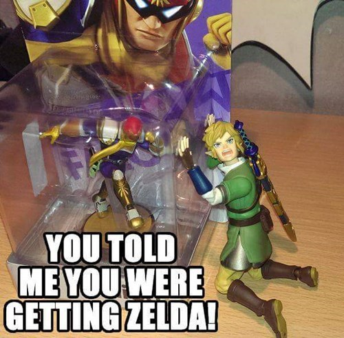 link amiibo captain falcon - 8420132608
