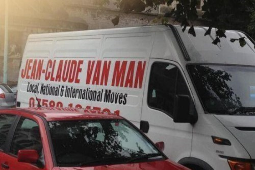 monday thru friday van Jean-Claude Van Damme moving business name - 8420174080