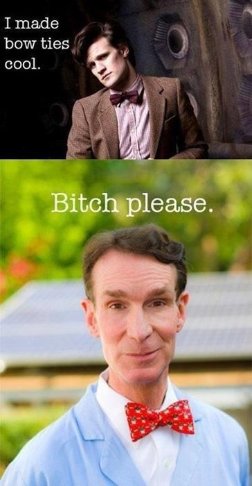 bill nye,bowtie,11th Doctor