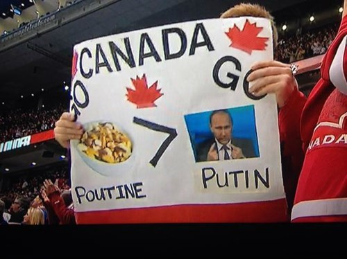 Advertising - CANADA G ww 7 ADA PUTIN POUTINE
