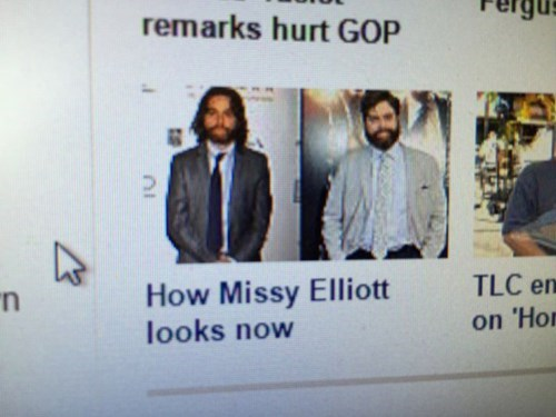 missy elliott,Zach Galifianakis