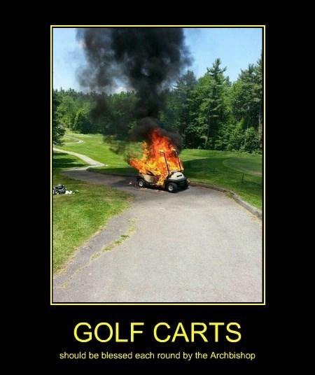 caddyshack blasphemy funny golf carts - 8420467712