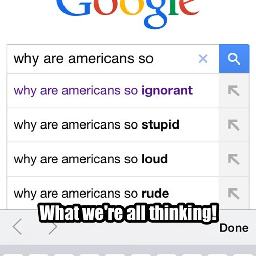 Questions the Rest of the World is Thinking