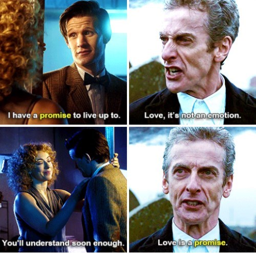 otp,12th Doctor,11th Doctor,River Song