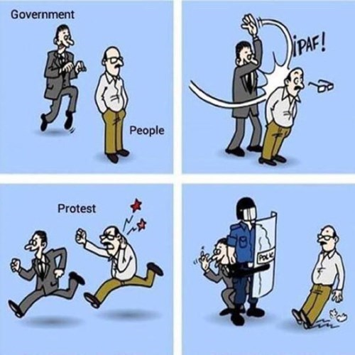 government Protest comics web comics police - 8420884992