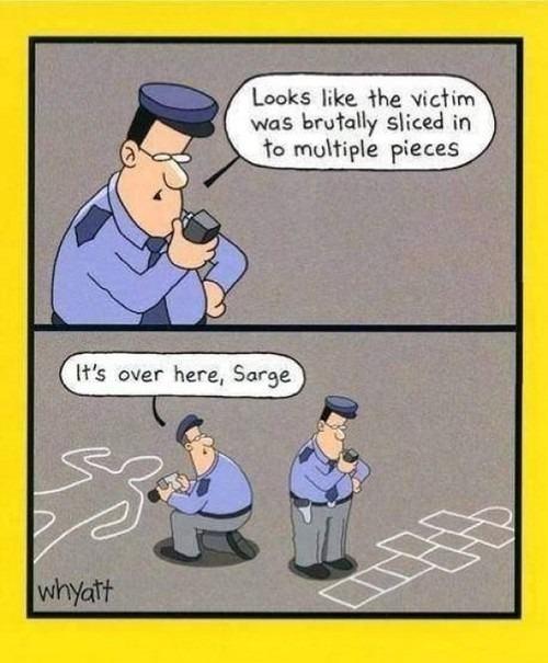 web comics,police