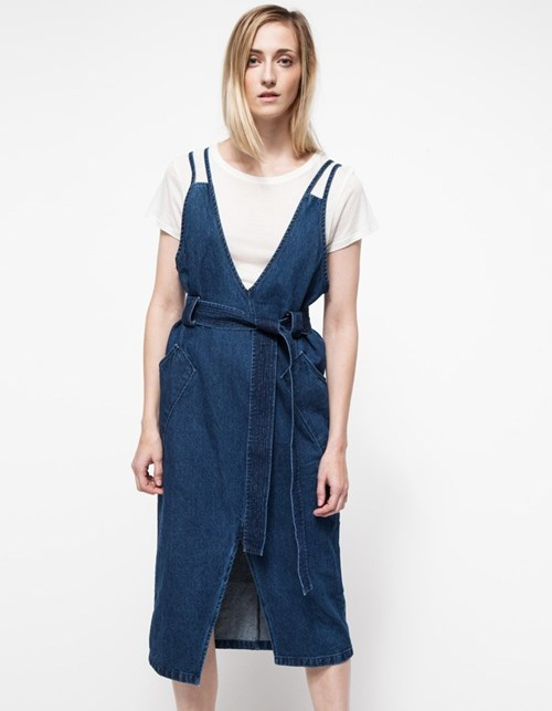 denim poorly dressed dress overalls - 8420925184
