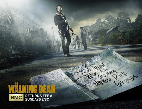 mid season break poster The Walking Dead - 8420933632
