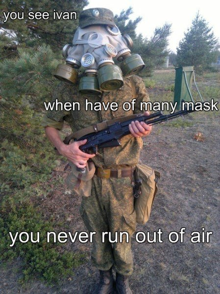 gas masks,russia
