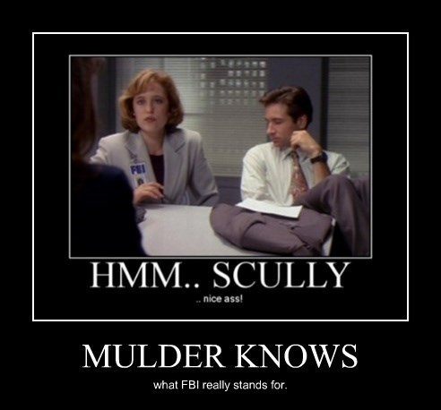 Scully Sexy Ladies x files female body inspector funny