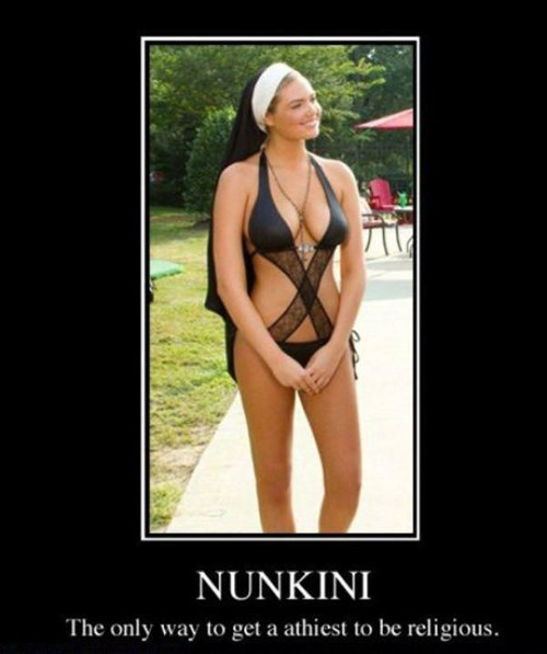 Sexy Ladies habit puns funny nun - 8420974592