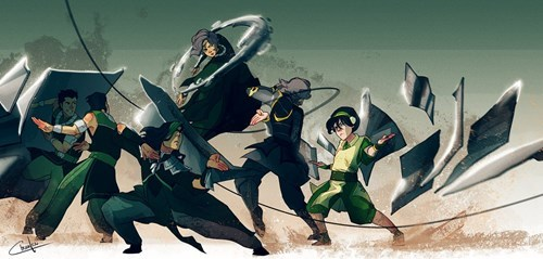 toph beifong Fan Art cartoons Avatar - 8421053952