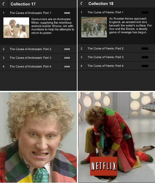 classic who 6th doctor netflix - 8421123072