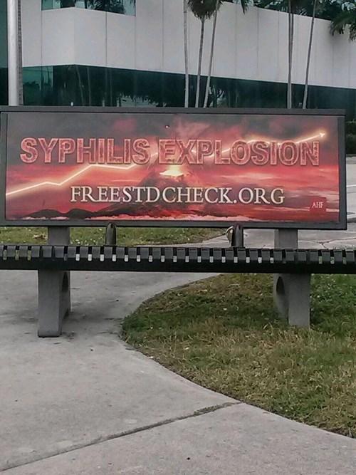 syphilis,eww,STD,funny,bench