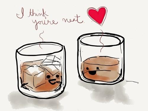 whiskey neat puns funny - 8421162752