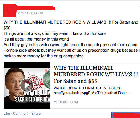 illuminati,conspiracy,facepalm,robin williams