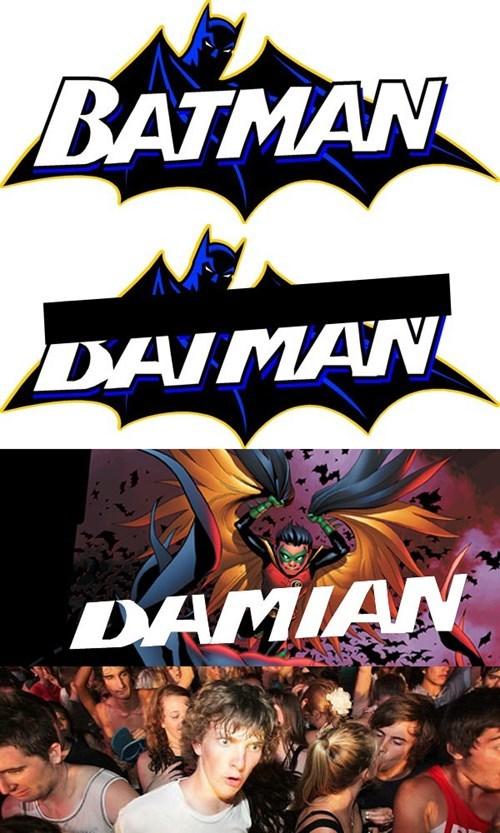 robin sudden clarity batman damian wayne - 8421745408