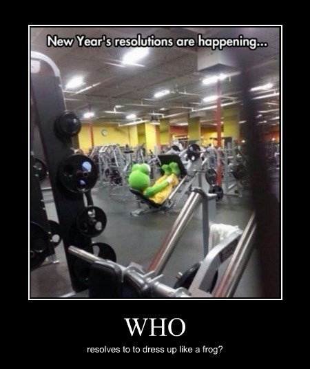 resolutions exercise idiots funny - 8421826560