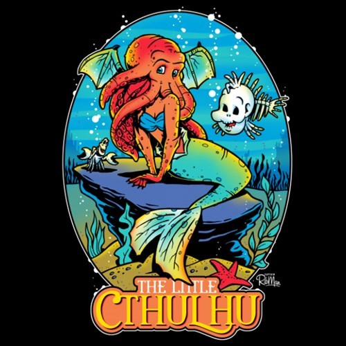crossover disney for sale The Little Mermaid cthulhu - 8421836544