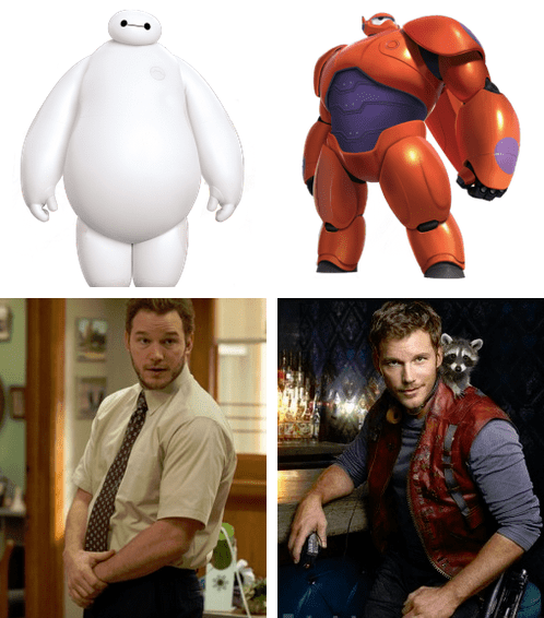 baymax crossover disney guardians of the galaxy big hero 6 - 8421879296