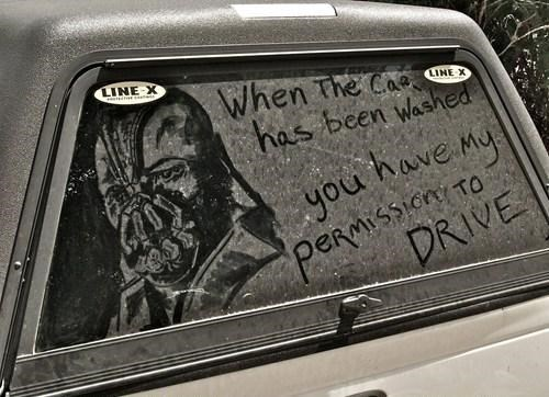 wash me,cars,bane,parenting,g rated