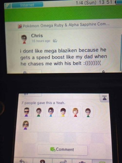 Pokémon Miiverse mega blaziken - 8421932288