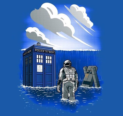 for sale tardis tshirts interstellar - 8421950720