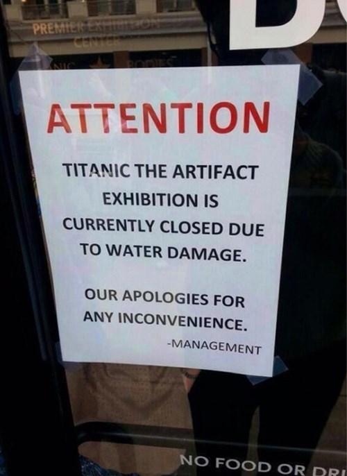 irony,titanic