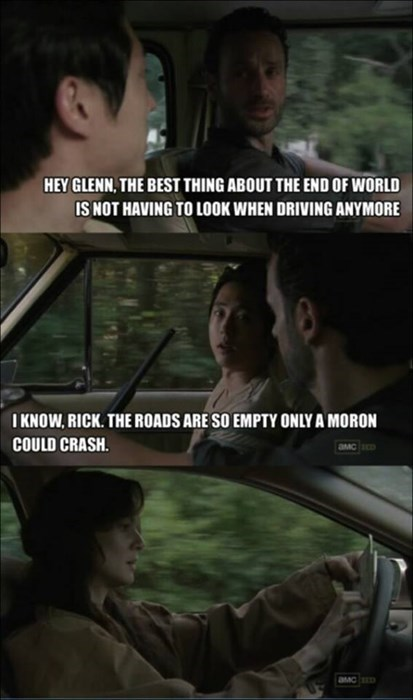 Rick Grimes car crash lori grimes - 8422041856