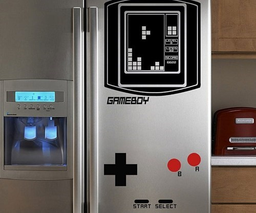 design game boy nerdgasm fridge - 8422056960