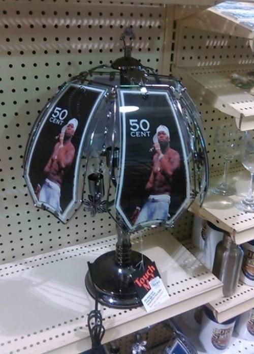 lamp,puns,50 cent