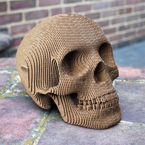 design skull cardboard - 8422071552