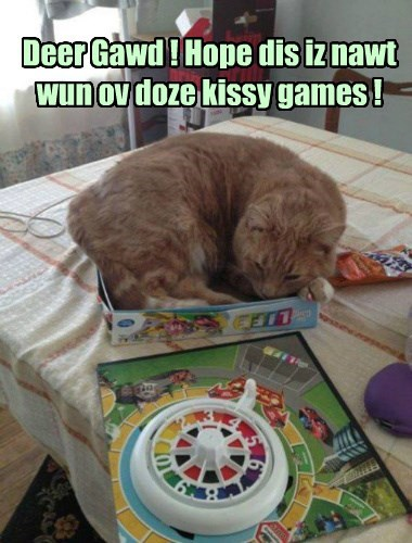Cats board game KISS if i fits i sits - 8422350336