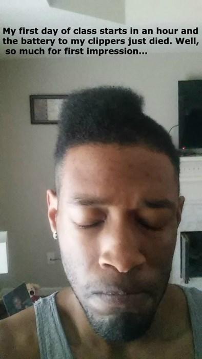 hair half poorly dressed - 8422479872