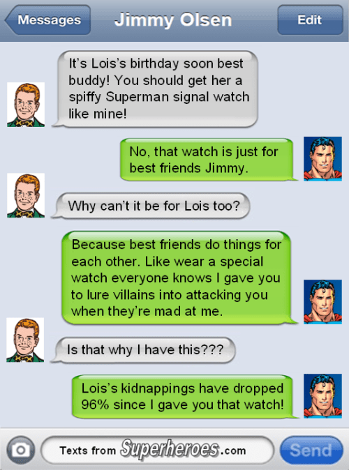 best friends jimmy olsen superman