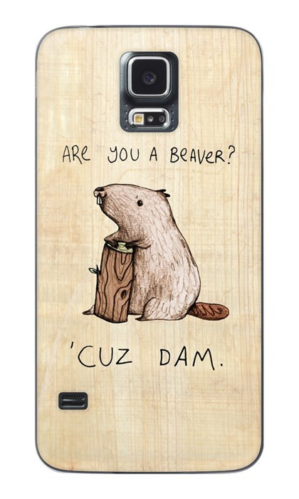 beavers,pickup lines,phone,funny