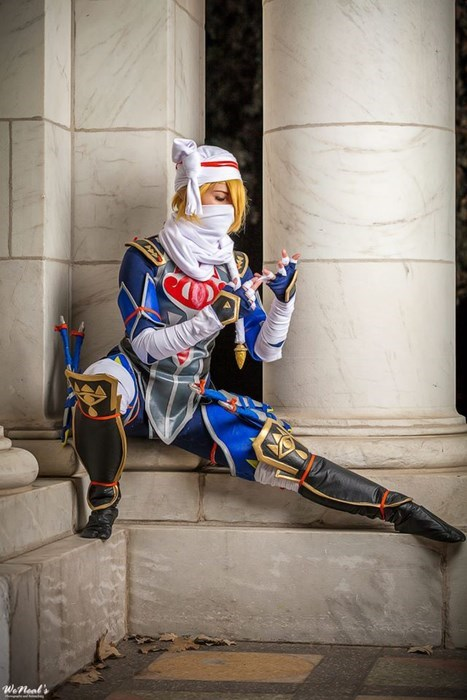cosplay legend of zelda sheik - 8422611968