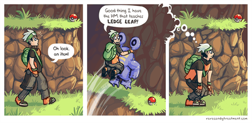 Pokémon,ledges,hm,web comics