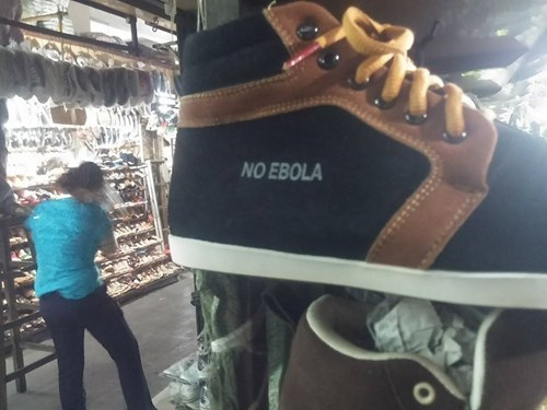 shoes poorly dressed ebola sneakers - 8422681344