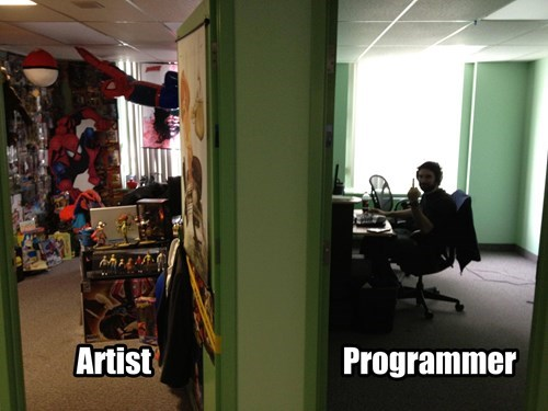 monday thru friday,artist,programmers,Office