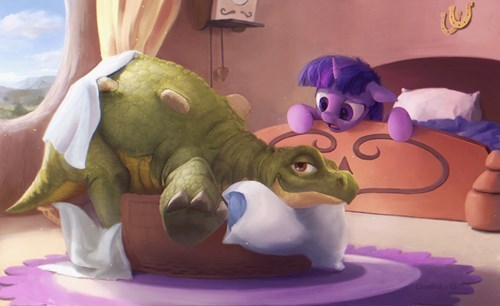 spike The Land Before Time twilight sparkle - 8422702336