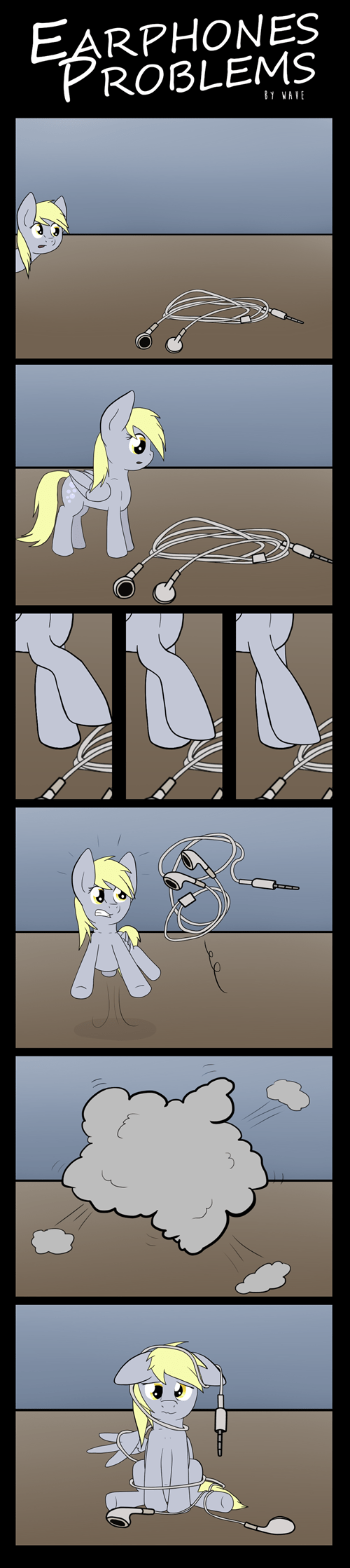tangled derpy hooves earbuds - 8422705664
