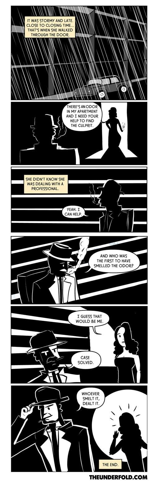 detective,noir,fart,web comics